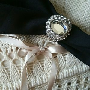 Jewelry - Costume Jewelry Statement Ring, Adjustable Band